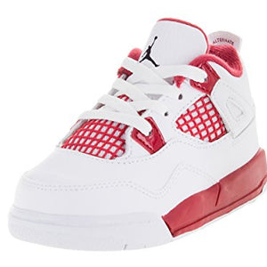 [308500-106] AIR JORDAN AIR JORDAN 4 RETRO (TD) INFANTS SHOES WHITE BLACK GYM