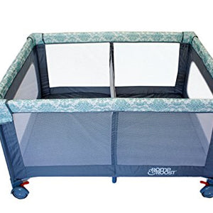 Romp & Roost Oversized Play Yard with Removable Divider -