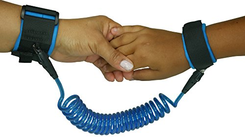 2 Pack Child Anti Lost Wrist Link By Wrist Armor | Durable Breathable Cotton Velcro Wrist Strap | Safety Harness Walking Hand Belt For Travel, Outdoor, And Shopping