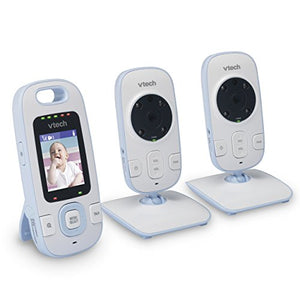 VTech BV73121BL Digital Video Baby Monitor with Full-Color and Automatic Night Vision,