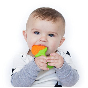 Nuby Fruity Chews Straight Handle Teether, 3