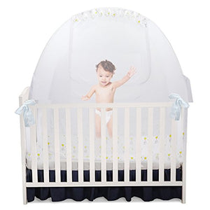 Self Proping Crib Safety Net or Crib