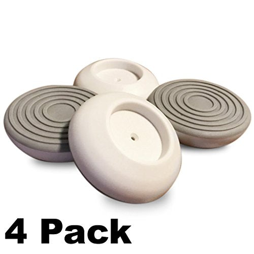 "4 Pack Wall Guards for Pressure Mounted Baby Gate fits Stairs, Gates, Doorways, Wall Cups Surface Protection for Pet Child Infant Safety, Damage Free Wall Guard, 1.6"" Size by Safety"