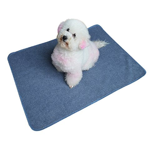 2PCS Washable Puppy Pads,Premium Dog Pee Pads with Fast Absorbent Reusable,Waterproof,Soft for Training,Travel,Housebreaking,Incontinence,for Playpen,Crates,Whelping