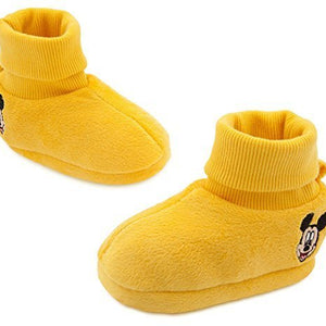 "Disney Store Mickey Mouse ""On with the shoe"" Yellow Costume Shoes for"