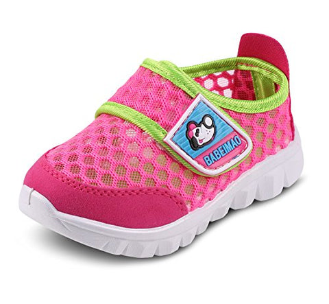 Baby's Boy's Girl's Kids Breathable Mesh Light Weight Sneakers Athletic Running Shoe Walking