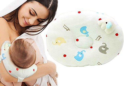 2-in-1 Travel Arm Nursing Pillows for Breastfeeding,Baby Pillows for Sleeping,Head-shaping