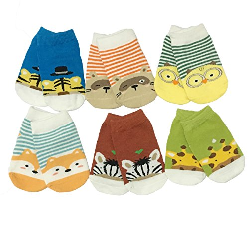 Baby Non Skid Low Cut Ankle Sock Toddler Anti Slip Cotton No Show Boat