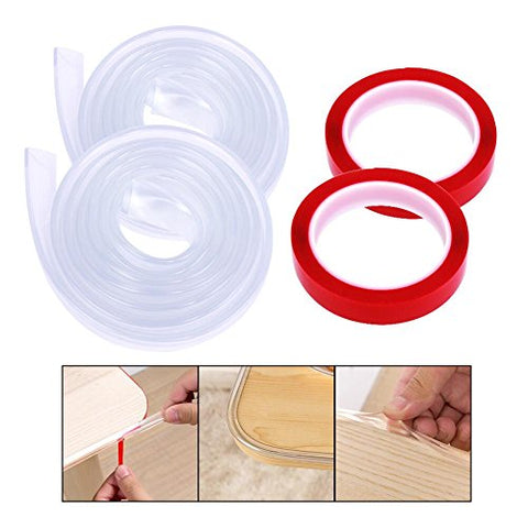 6.5 Feet Baby Safety Bumper Strip Edge Guards Protector Corner Guard Edge Corner Cushion