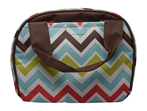 9 In Small Reusable Zippered Top Insulated Lunch