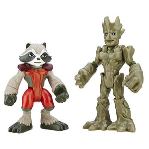 Playskool Heroes Marvel Super Hero Adventures Groot and Rocket