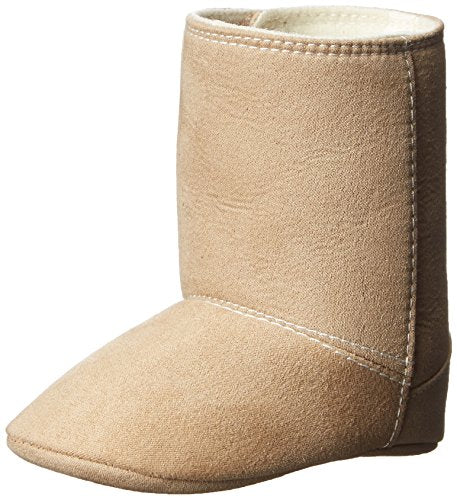 Baby Deer Tan Suedecloth Fashion Boot