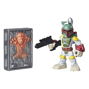 Playskool Heroes Galactic Heroes Boba Fett and Han Solo in
