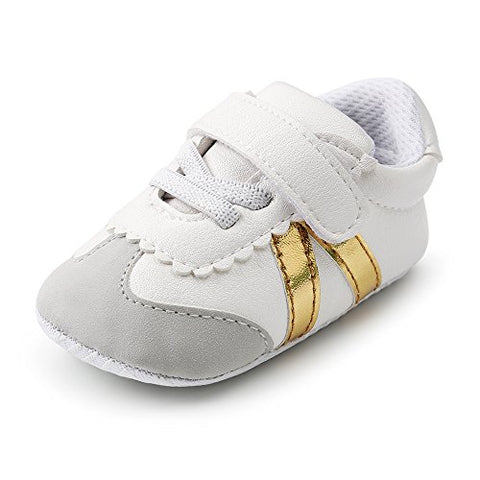 Antheron Unisex Baby Shoes Infant Boys Girls Soft Anti-Slip Sneakers Toddler Prewalkers Newborn Crib