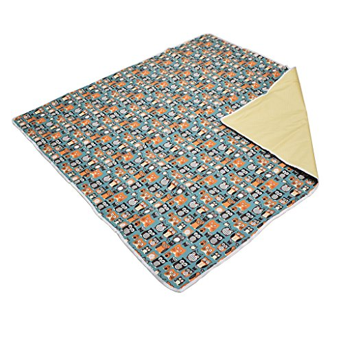 "51"" Large Splat Mat Floor Cover for Under High Chair Waterproof Anti-slip Floor Splash Spill Mat Multi-Purpose Baby Kids Play"
