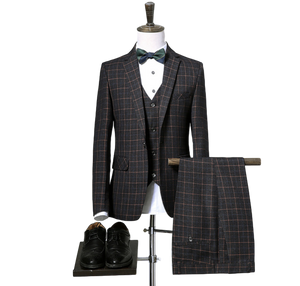 Stanley Classic 3 piece suit - Peaky blinders style