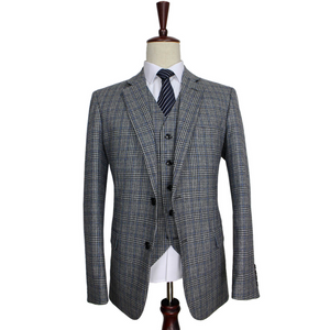 Baldwin Classic 3 piece suit -  Peaky Blend suit
