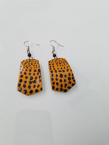 Printed Tribal Earrings