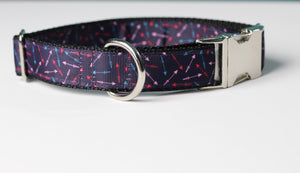 Purple Arrow Dog Collar