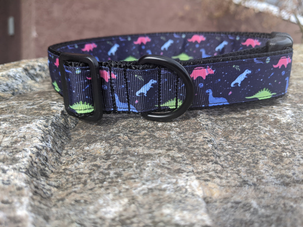 Dinosaurs Dog Collar