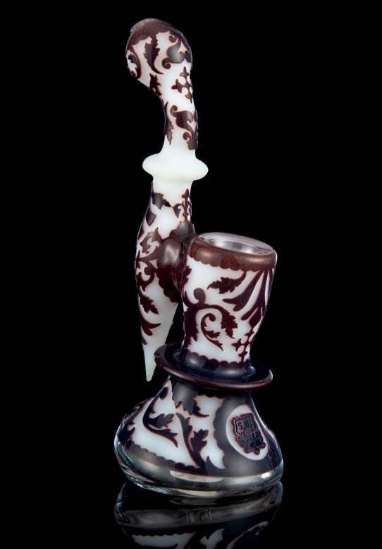 503 Liberty - White Bubbler