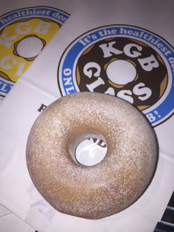 KGB Donut Powdered Sugar