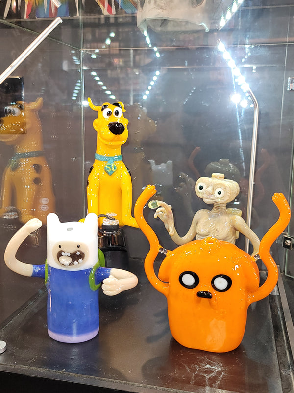 Daniel's Glass Art Jake the Dog Adventure Time