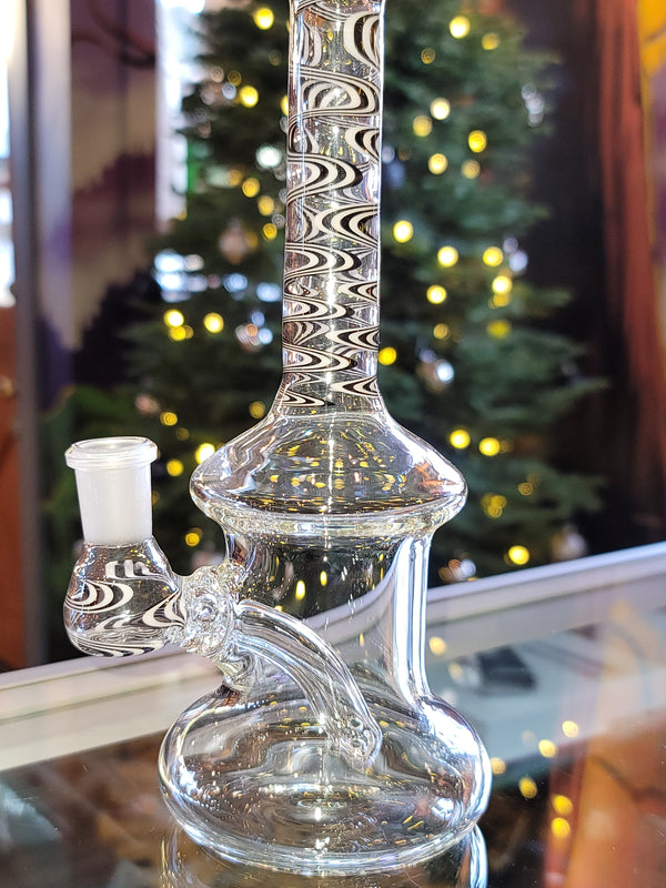 DG Glass Bubbler black/white