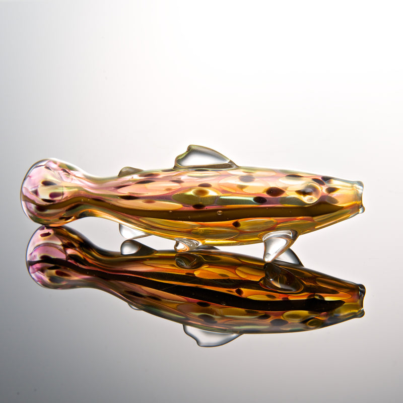 ZuGlassArt Trout Chillum