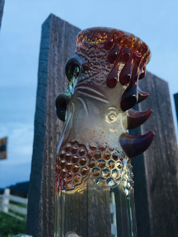 Mazet Rose Gold Tiki Man Beaker