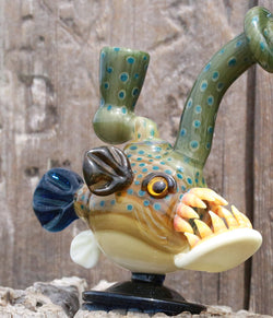 603 Glass x Wyomingmofo Glass - Trout Angler Collab