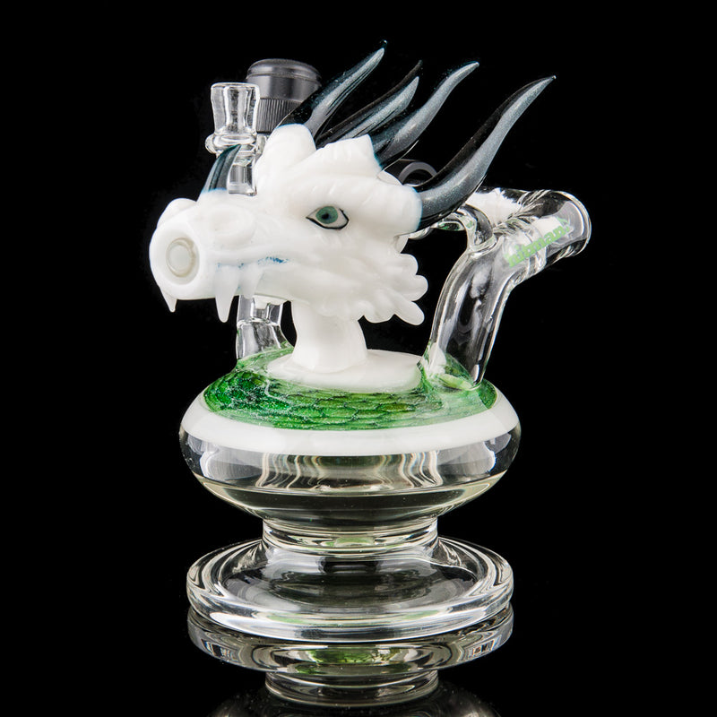 Peralta x Hitman glass dragon head torch