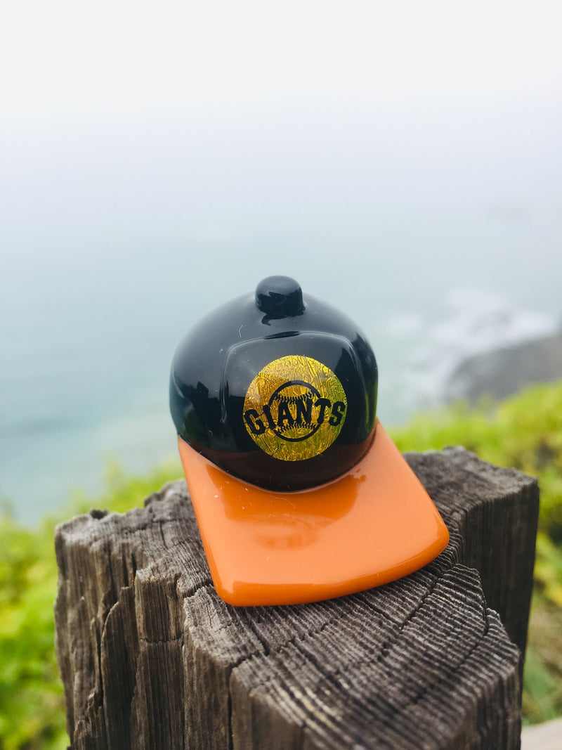SF Giants baller carb cap by Turtle Time Glass