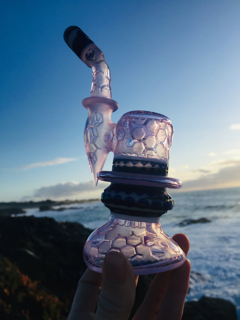 Liberty 503  - Purple Bubbler