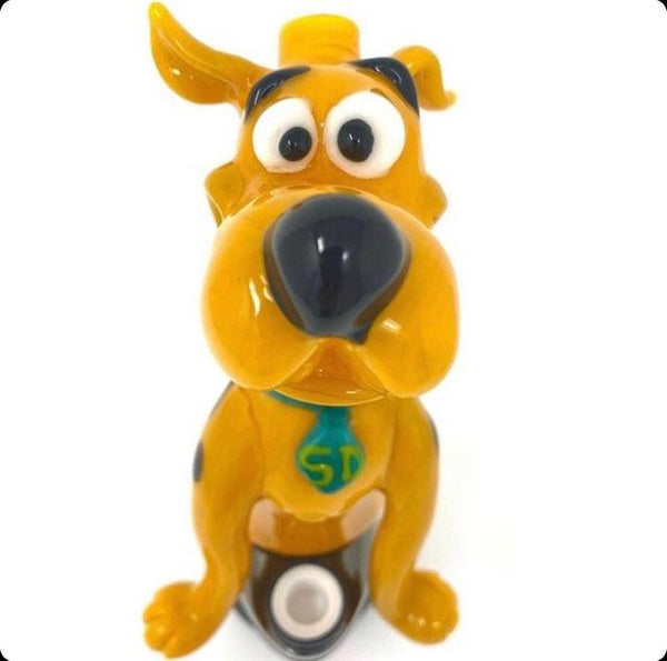 Daniel's Glass Art Scooby-Doo puffco peak attachment