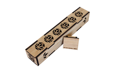Standing Bamboo Incense Box
