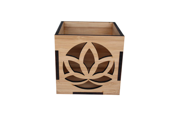 Bamboo Candle Boxes