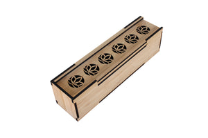 Bamboo Sliding Lid Box