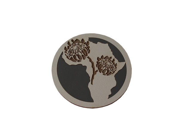 Round Africa Coasters | Set of 6
