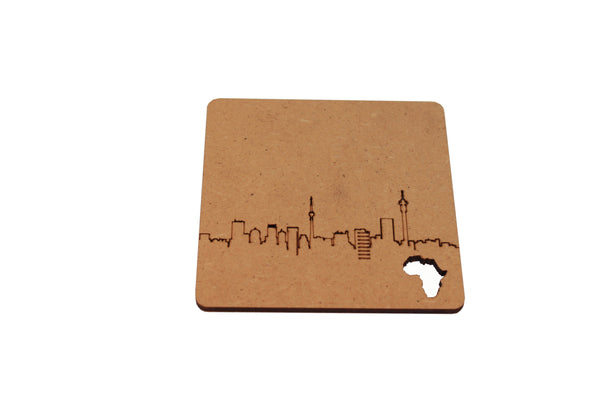 Africa Coasters | Set of 6
