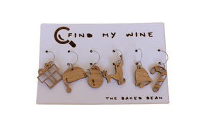 Xmas Find My Wine | Set of 6