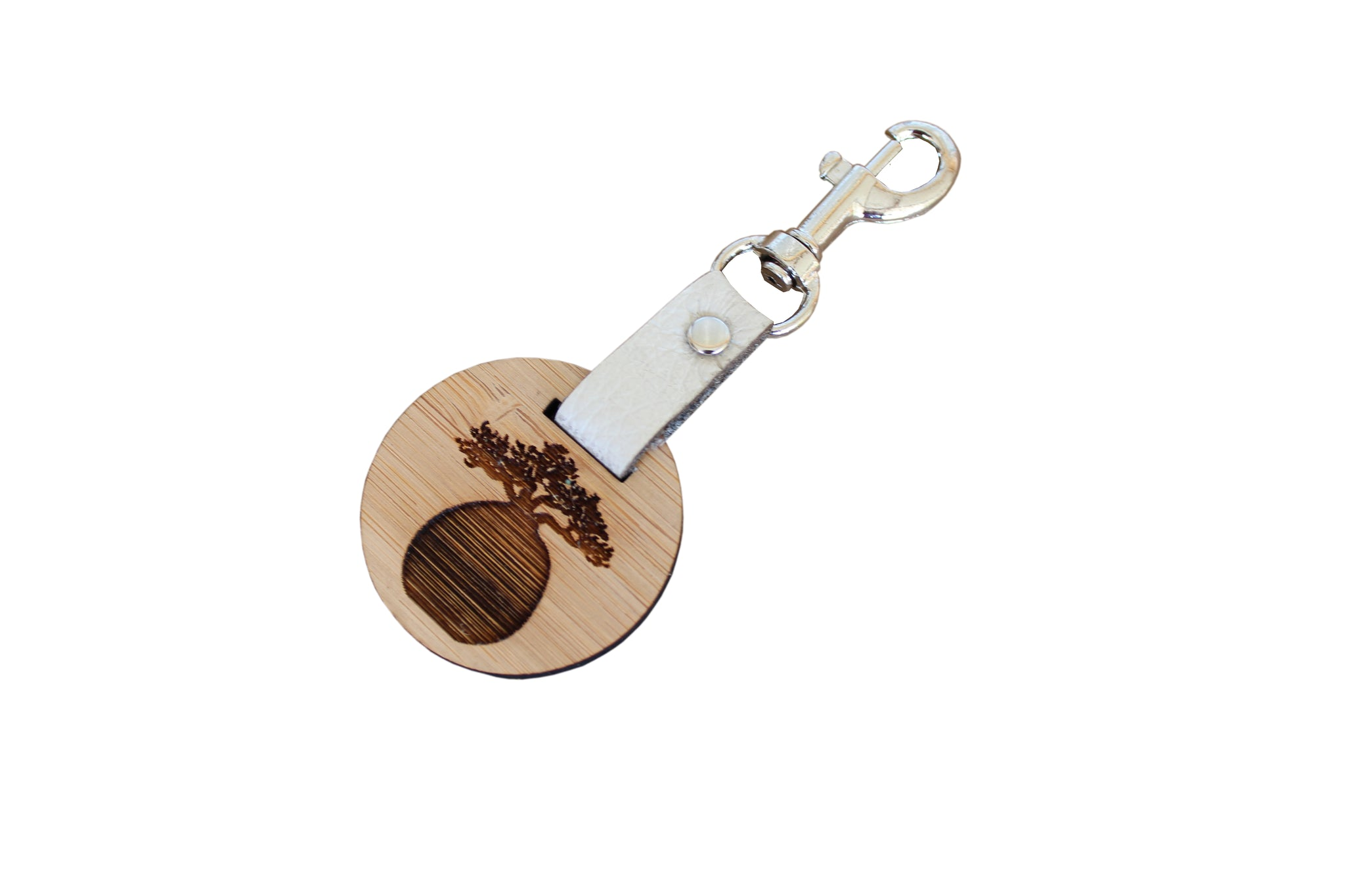 Africa Bamboo Key Rings