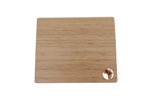 Africa Bamboo Placemats | Set of 4