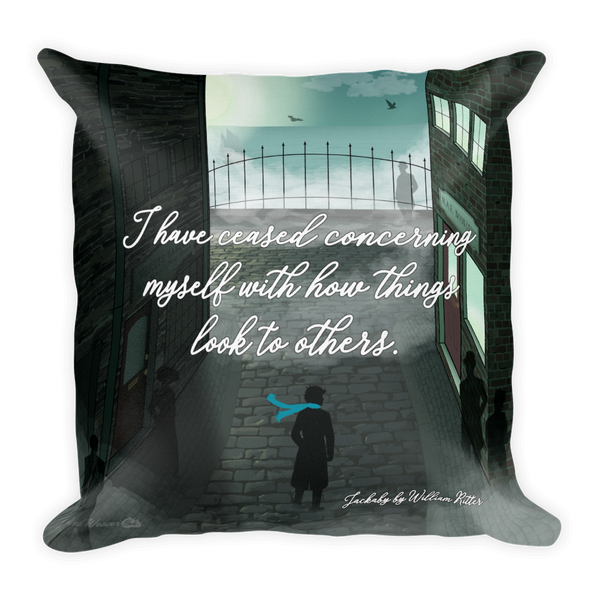 Jackaby - Throw Pillow