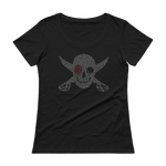 Daughter of the Pirate King, Jolly Rose - Women's Scoopneck