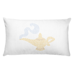Aladdin and the Wonderful Lamp - Throw Pillow