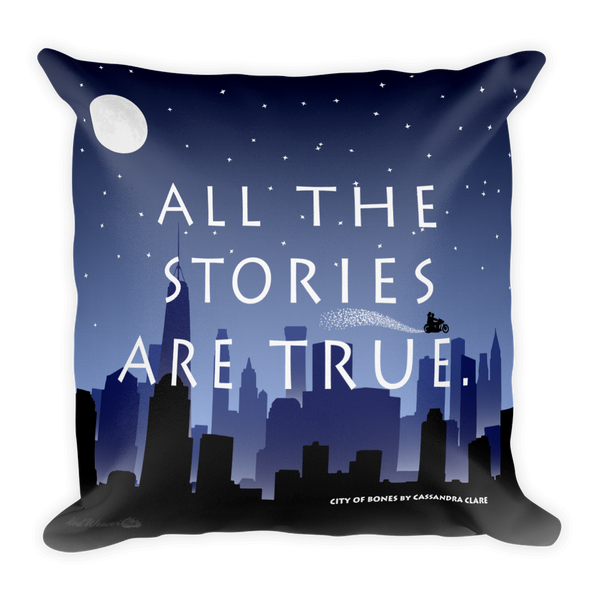 City of Bones (The Mortal Instruments) - Throw Pillow