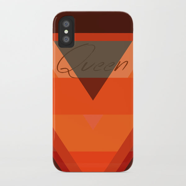 Rise of a Queen Sleek Series iPhone Case