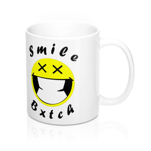 Inspired by Lil Duval Smile Bxtch Mug 11oz - PolkTheArtist