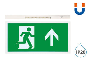5W Maintained Led Exit Sign Box With Up Arrow Lege - Integral